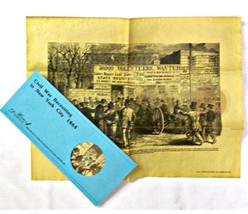 Civil War Recruiting in New York City 1864 - $8.95