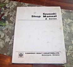 Kawasaki Shop Manual Z Series Revised 2 : Feb 1, 1974 Fair Accept Cond - $26.51