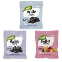 Toms Nellie Dellies Sugar Free Stevia Candy 90 gram Salty Sweet Licorice - $6.29
