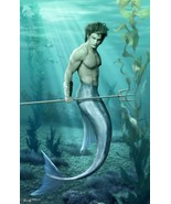 Protective and highly Sexual merman - $65.00