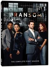 Ransom: Complete First Season 1 One [DVD Set New] - $24.98