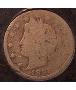 "1895 Liberty Head ""V"" Nickel AG #0502 - $3.29"