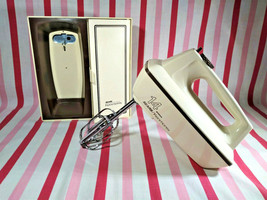 Awesome Vintage Sears Kenmore 14 Speed Hand Mixer With Wall Mount Caddy ... - $38.00