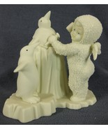 Snowbabies I'm Making An Ice Sculpture 68420 Department 56 Figurine Retired 1996 - $14.95