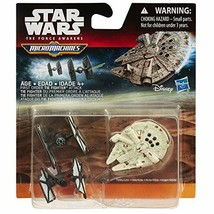 Star Wars The Force Awakens Micro Machines 3-Pack First Order TIE Fighte... - $6.99