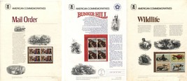 USA Stamps Postage SC #1464-1467 #1468 #1564 American Commemoratives  MI... - $3.40
