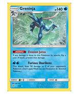 Pokemon Detective Pikachu GRENINJA FOIL RARE Trading Card NEW 9/18 - $9.79