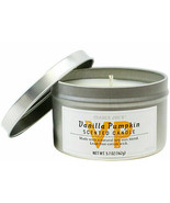 TRADER JOE'S VANILLA PUMPKIN Scented Soy Candle 55 Hour Burn LIMITED EDITION  - $7.90