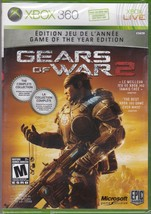 Gears of War 2 -- Game of the Year Edition (Microsoft Xbox 360, 2009) - $16.00