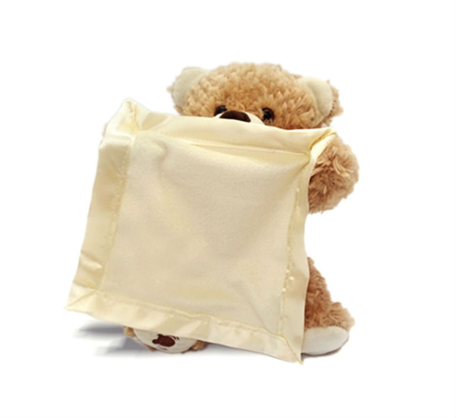 Teddy Bear Peek A Boo Play Hide And Seek Lovely Cartoon Birthday Perfect Gift