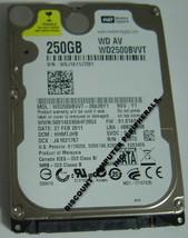 NEW 250GB SATA 2.5 inch 9.5MM Hard Drive WD WD2500BVVT Free USA Shipping