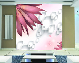 3D Polygonen, Blumen 6778 Fototapeten Wandbild Fototapete BildTapete FamilieDE - $52.21+