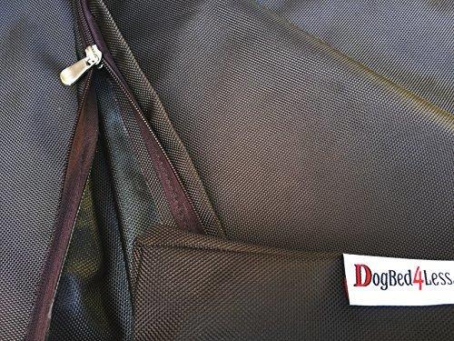 Dogbed4less XL 1680 Ballistic Heavy Duty Dog Pet Bed External Zipper Duvet Cover