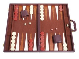 Middleton Games Tournament Backgammon Set - 21 in. - Classic Brown - $101.29