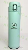 Mercedes Benz Stainless Thermal Mug Push Cap Tumbler Cup Travel 18oz (Teal) - $29.99