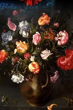 Still Life of a Vase with Flowers by Jacob Gossamer - Art Print - $19.99+