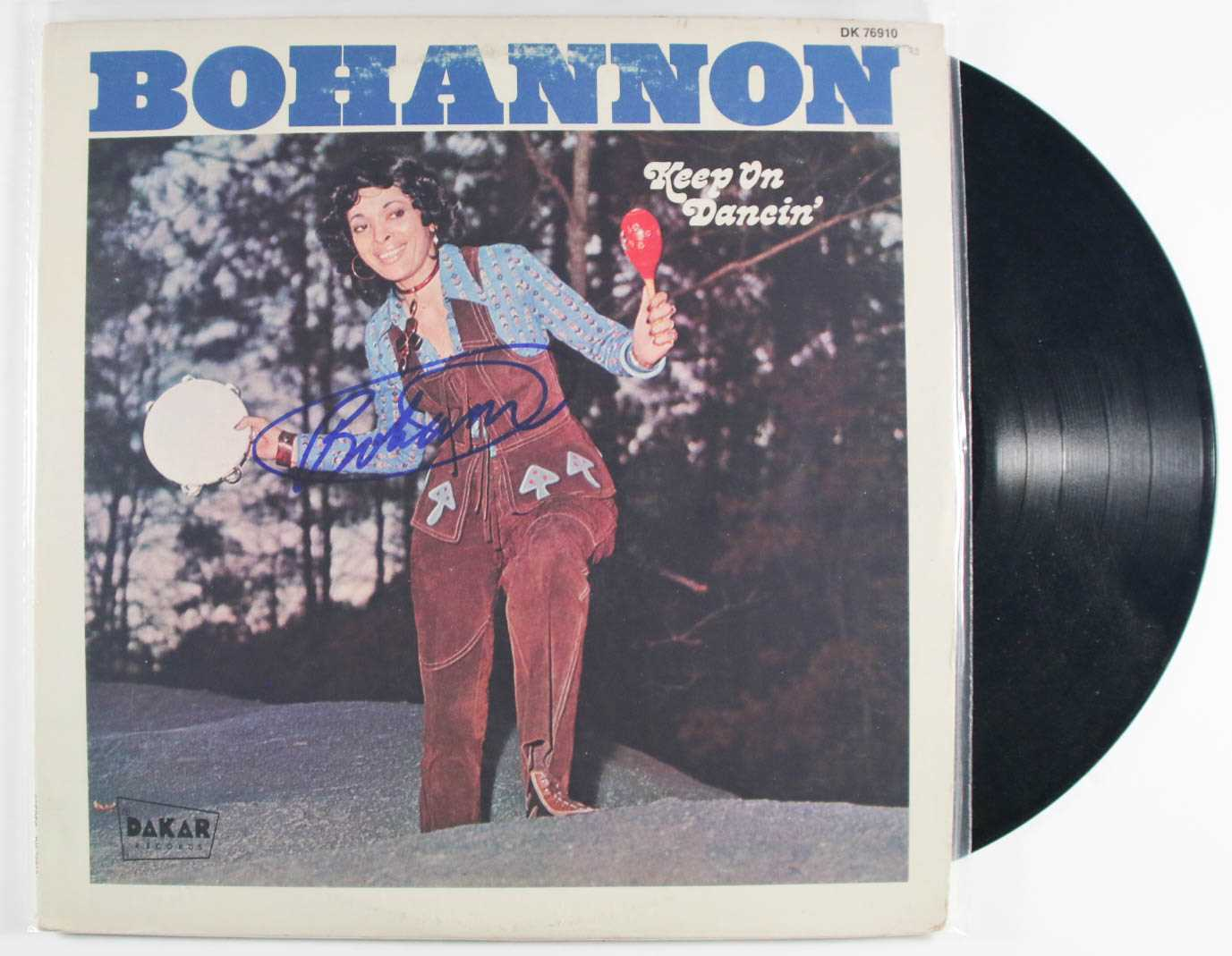 "Primary image for Bohannan Signed Autographed ""Keep On Dancin"" Record Album"