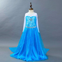 HOT!Frozen Princess Dresses  Girls Dresses Elsa Princess Party Dresses - $16.99