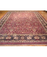 10' x 14' Jaipur Densely Knotted New Authentic Handmade Burgundy Area Rug - $1,239.76
