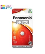 PANASONIC SR920 SILVER OXIDE BATTERY POWER YOUR DAY 1.55V 1BL EXP 2023 NEW - $3.55