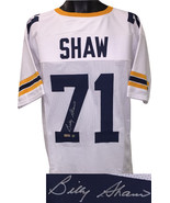 Billy Shaw signed White Custom Stitched College Football Jersey XL- Radt... - $98.95