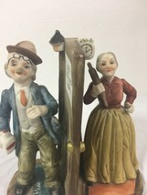 Arnart Figurine Sculpture Drunk Husband Angry Wife Rolling Pin - $10.89