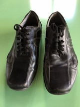 Steve Madden Men's Warior Sneaker, black & Gray Leather, US SZ 8M - $13.99