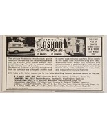 1963 Print Ad The Alaskan Camper It Raises It Lowers Pickup Truck - $8.89
