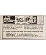 1963 Print Ad The Alaskan Camper It Raises It Lowers Pickup Truck - $8.89