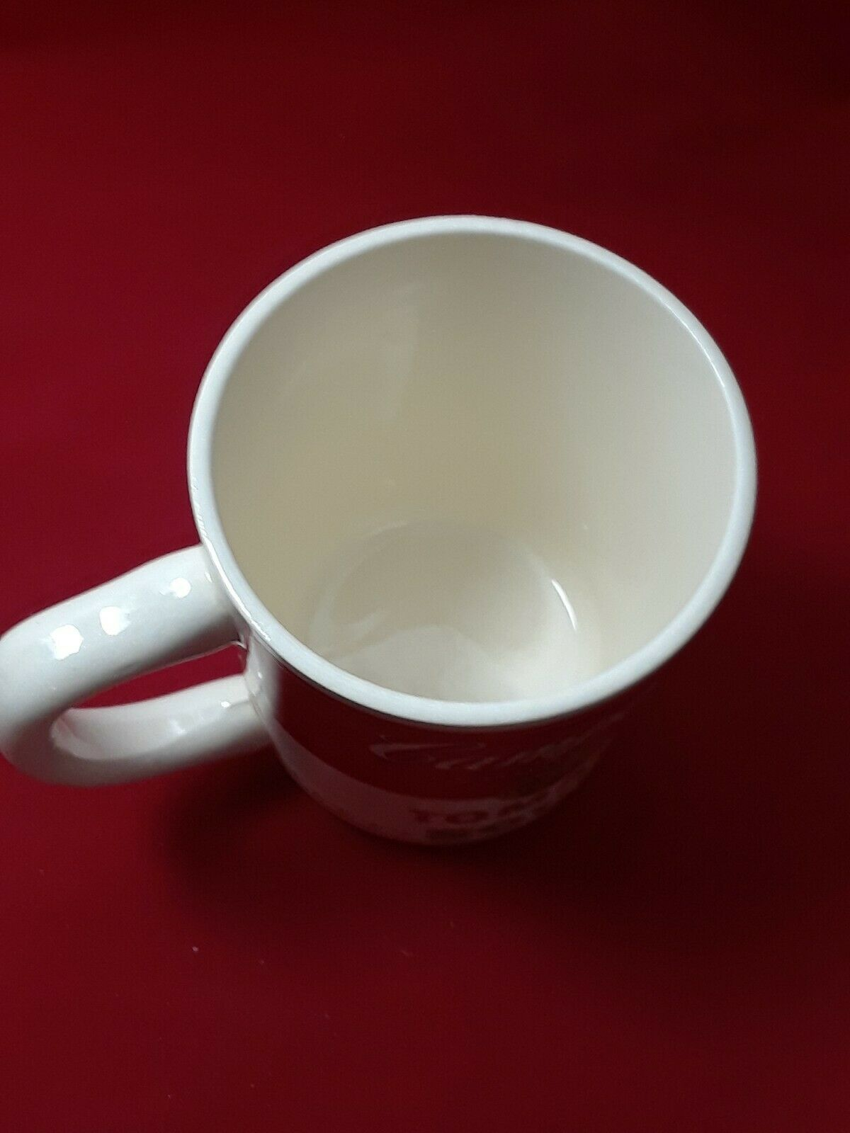 Collectible Campbell's Tomato Soup Mug Cup 8 oz in The Original Styrofoam Mailer image 8