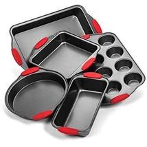 Elite Bakeware Ultra NonStick Baking Pans Set of 5 - Premium Bakeware Set - $61.00