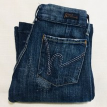 Citizens Of Humanity Dunaway #087 Flare Jeans Sz 26 Women's Full Leg Low Waist - $44.54