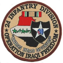 US Army 2nd Infantry Division Operation Iraqi Freedom Patch - $9.89