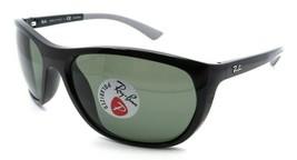 Ray-Ban Sunglasses RB 4307 601/9A 61-18-130 Black / Green Classic G-15 P... - $131.32