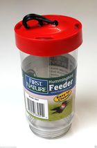 Replacement First Nature 16oz Plastic Bottle / Jar for Hummingbird Feede... - $12.00