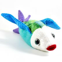 2000/2001 TY Beanie Baby Propeller Colorful Fish Retired Beanbag Plush Toy Doll image 4