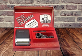 Vintage Remington Micro Screen Electric Cord Shaver and Box  - $51.08