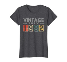 Brother Shirts - Retro Classic Vintage JULY 1982 Aged 36 Years Old Being... - $19.95+