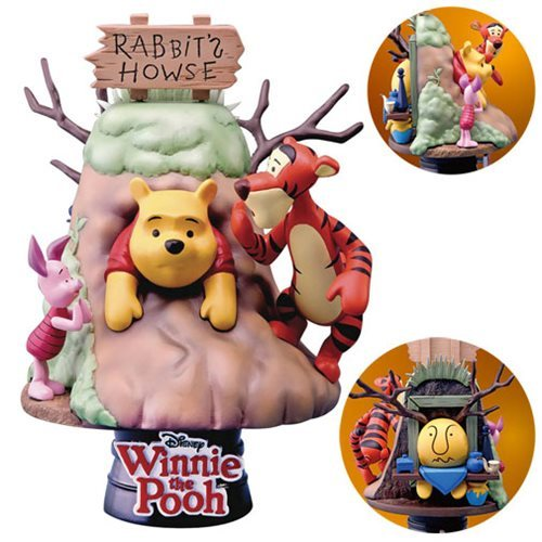 Image 0 of Winnie the Pooh D-Select Series DS-006 6-Inch Statue - Beast Kingdom