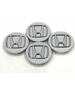 "4pcs Honda Center Cap SILVER CHROME 2.75"" / 69MM CRV Civic Fit Pilot Acc... - $18.80"