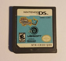 Rayman Raving Rabbids 2 (Nintendo DS, 2007) Tested - Working - $4.95