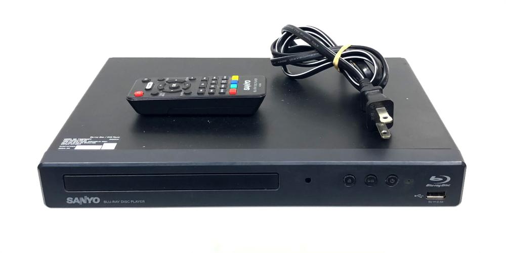 Sanyo Blu-ray Player Fwbp506ff - $19.99