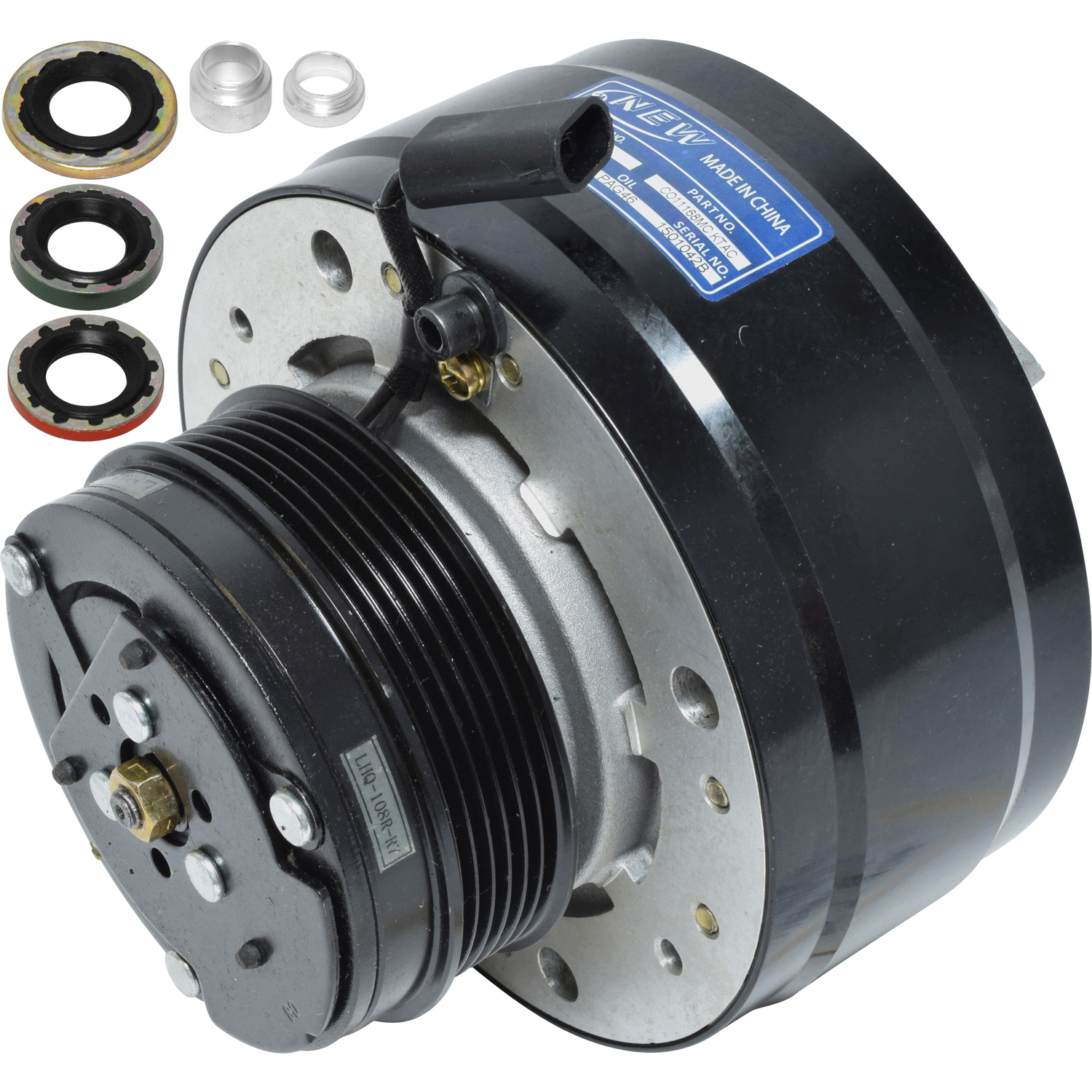 Evrolet c1500 suburban pickup truck ac air conditioning compressor with clutch co 2011168mc ktac