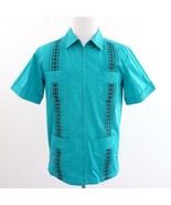 Tropicool Zip Front Mens Shirt Sz S New - $19.25