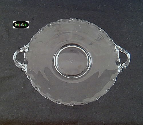 Primary image for Fostoria Century Crystal Tray 9 1/2 inch handled