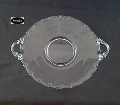 Fostoria Century Crystal Tray 9 1/2 inch handled - $9.95