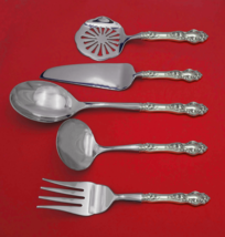 Violet by Wallace Sterling Silver Thanksgiving Serving Set 5-Piece Custom Made - $359.00