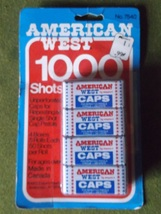 Mint  Package of American West CAP Boxes for Cap Guns - $50.00