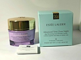 Estee Lauder Advanced Time Zone Age NIGHT Reversing Line/Wrinkle Creme 1... - $45.00