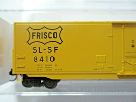 Micro-Trains # 18100180 Frisco 50' Standard Box Car 8' Plug Door N-Scale image 2